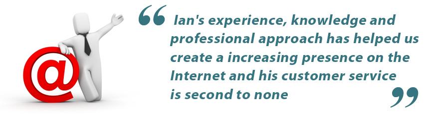 Ian's Client Says …